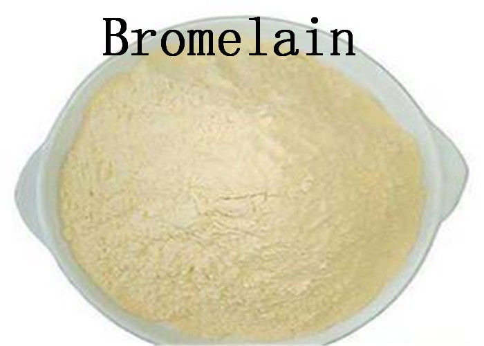 Food Grade Pineapple Extract Bromelain 9001 00 7 For Alcohol Feed Industry